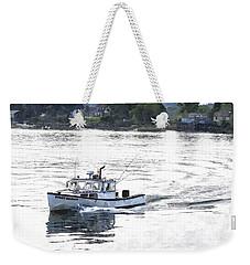 Lobster Boat Lbwc Weekender Tote Bag