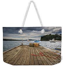 Lobster Boats Of Winter Harbor Weekender Tote Bag