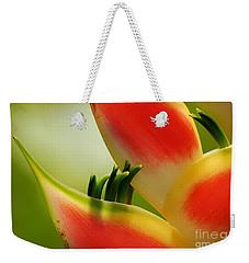 Lobster Claw Flower Weekender Tote Bag
