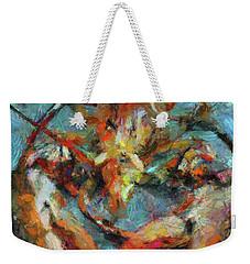 Lobster Weekender Tote Bag by Dragica  Micki Fortuna