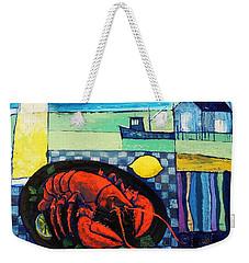 Lobster Weekender Tote Bag