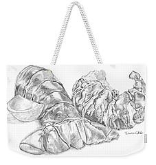 Lobster Shell Drawing Weekender Tote Bag