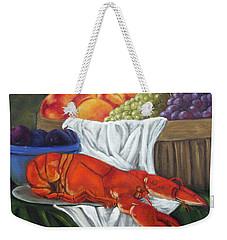 Lobster Still Life Weekender Tote Bag