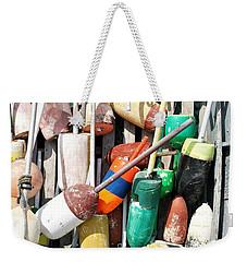Lobster Trap Markers Weekender Tote Bag