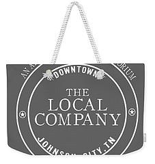 Weekender Tote Bag featuring the digital art Local by Heather Applegate