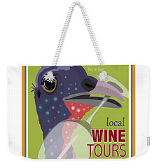 Local Wine Tours Weekender Tote Bag