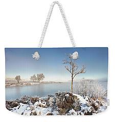 Loch Ba Winter Weekender Tote Bag