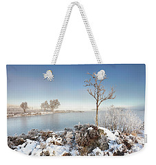 Weekender Tote Bag featuring the photograph Loch Ba Winter by Grant Glendinning