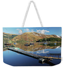 Loch Leven  Jetty And Boats Weekender Tote Bag