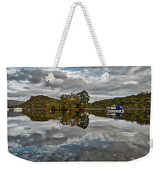 Loch Lomond At Aldochlay Weekender Tote Bag