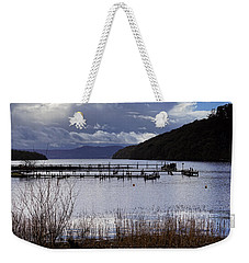 Weekender Tote Bag featuring the photograph Loch Lomond by Jeremy Lavender Photography