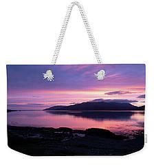 Loch Scridain Sunset Weekender Tote Bag
