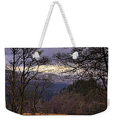 Weekender Tote Bag featuring the photograph Loch Venachar by Jeremy Lavender Photography