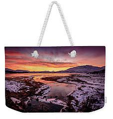 Lochan Na H-achlaise, Twilight Weekender Tote Bag