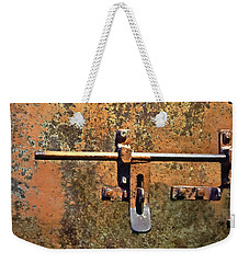 Locked And Loaded Weekender Tote Bag by Andrea Kollo