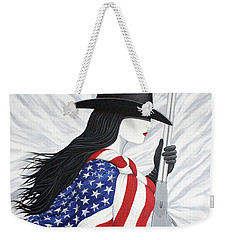 Locked And Loaded Number Two Weekender Tote Bag