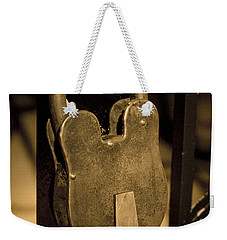 Weekender Tote Bag featuring the photograph Locked Away by Christi Kraft