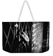 Weekender Tote Bag featuring the photograph Locked Away by Doug Camara