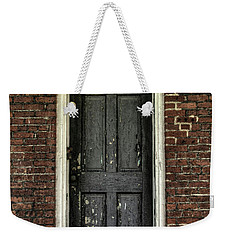 Weekender Tote Bag featuring the photograph Locked Forever by Zawhaus Photography