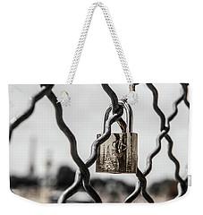 Locked In Paris Weekender Tote Bag