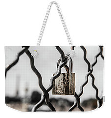 Locked In Paris Weekender Tote Bag