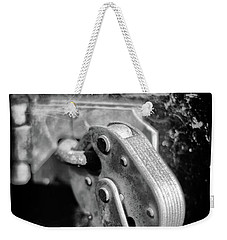 Weekender Tote Bag featuring the photograph Locked by Jeremy Lavender Photography