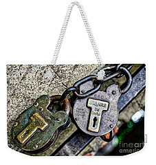 Locks N Chains Weekender Tote Bag