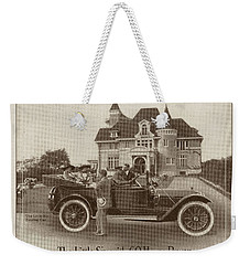 Locomobile Advertisement Weekender Tote Bag by Cole Thompson