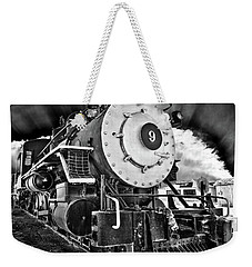 Locomotive Nine Weekender Tote Bag by Marius Sipa