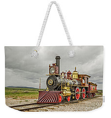 Weekender Tote Bag featuring the photograph Locomotive No. 119 by Sue Smith