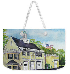 Locust Valley Firehouse Weekender Tote Bag