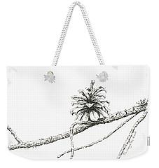 Lodgepole Pine Cone Weekender Tote Bag