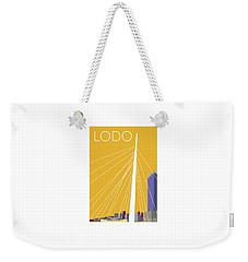 Lodo/gold Weekender Tote Bag