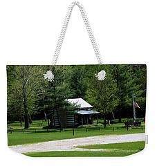 Log Cabin In Loudonville Weekender Tote Bag