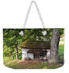 Log Cabin Weekender Tote Bag