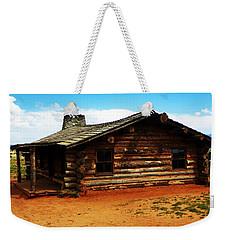 Log Cabin Yr 1800 Weekender Tote Bag