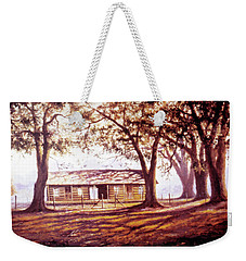 Log House On 421 Weekender Tote Bag