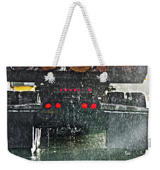 Log Truck In The Rain Weekender Tote Bag