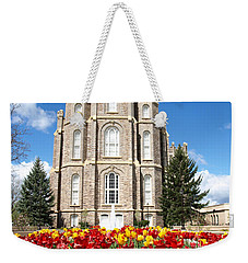 Logan Temple Weekender Tote Bag