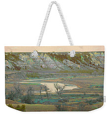Logging Camp River Reverie Weekender Tote Bag