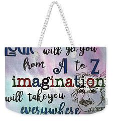 Logic Weekender Tote Bag