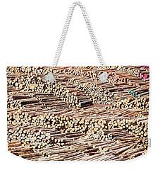 Logs Weekender Tote Bag