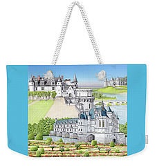 Loire Valley Weekender Tote Bag by Albert Puskaric