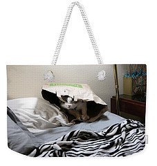 Lois's Favorite Cat Picture In The Whole Wide World Weekender Tote Bag
