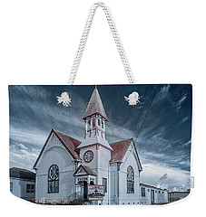 Weekender Tote Bag featuring the photograph Loleta Church by Greg Nyquist
