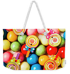 Lolly Shop Pops Weekender Tote Bag