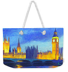 London 1 Weekender Tote Bag by Caito Junqueira