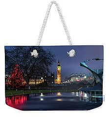 London At Christmas 2 Weekender Tote Bag by Matt Malloy