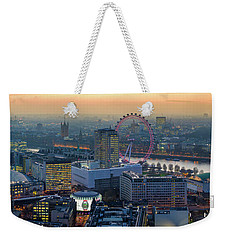 London At Sunset Weekender Tote Bag