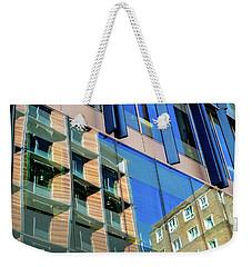 London Bankside Architecture 3 Weekender Tote Bag by Judi Saunders